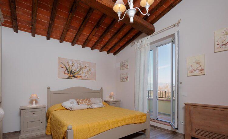 Casa di campagna Pianelli, la camera da letto, Vacanze in Toscana